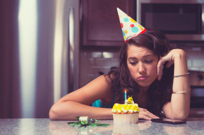 doğum gününde regl olmak