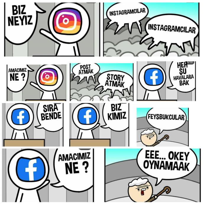 Tarafını seç! Instagram mı? Facebook mu?