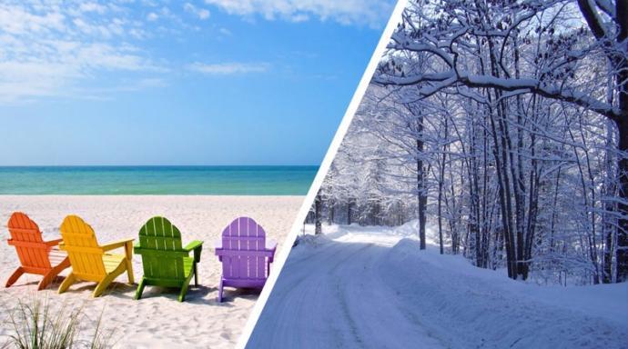 Kış mevsimini sevenlerden misin? Yoksa yazı sevenlerden mi?