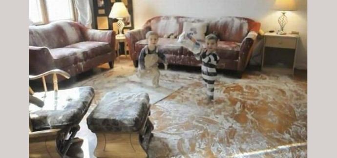 Çocuklarınız evi kirletiyorlar mı veya siz kirlettiklerini mi sanıyorsunuz?