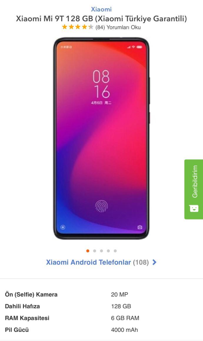 Bütçeme göre, fiyat&performans hangi telefonu önerirsiniz?