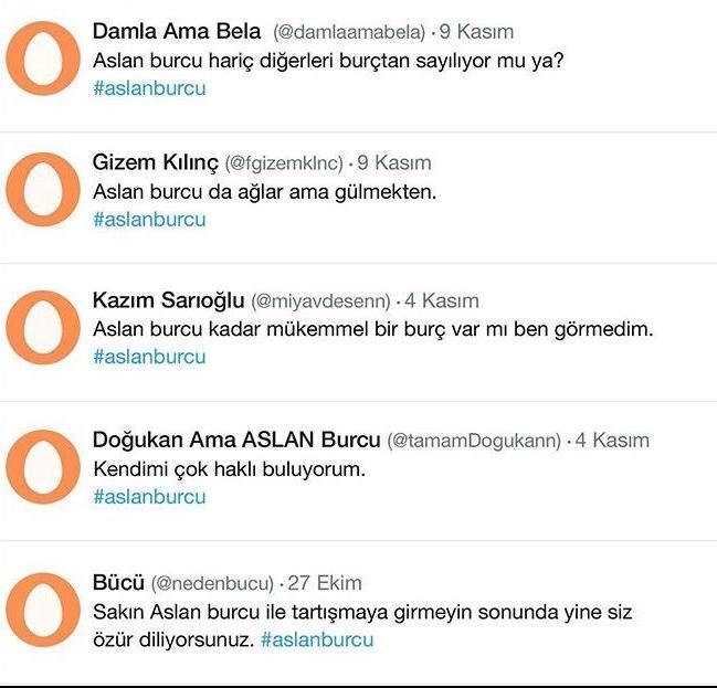 Burçlar Twitter Aleminde nasılmış öğrenmek ister misiniz?