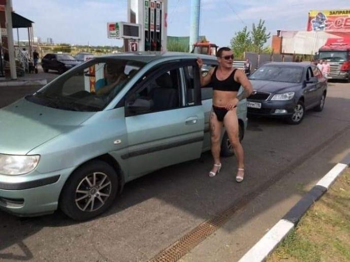 Bikinili gelenlere yakıt bedava olsa, bikini ile benzinliğe gidermisiniz?