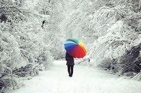 Şemsiye güzelmiş..