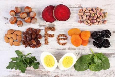 Kansızlık için faydalı besinler