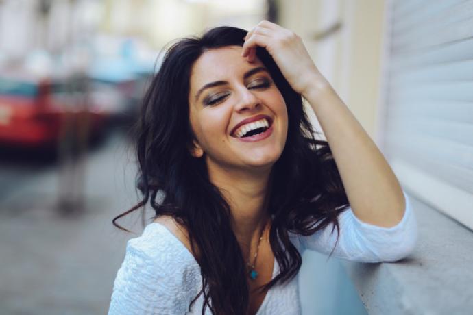 etkileyici gülüş