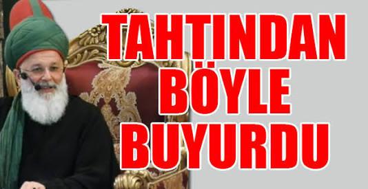 Mevlevi şeyhi Mustafa Ozbag ın mukemnel önerisi; maaşları düşürün?