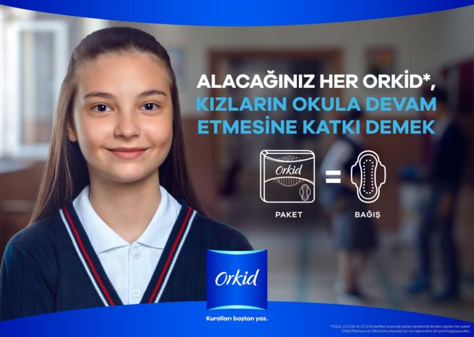 #OkulaDevam! Hijyenik pede ulaşamayan kız öğrencilerin özgüvenle okula devam etmesi için destek olmaya var mısın?