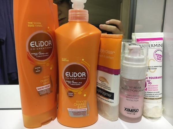Kaç farklı saç bakım ürününüz var?