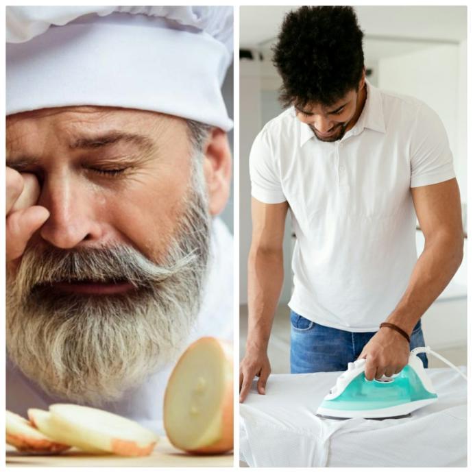 Soğan doğrama işini üstlenen erkek mi, ütü yapma işini üstlenen erkek mi daha sevilesidir?