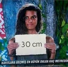 30 cm diyeni vururum.