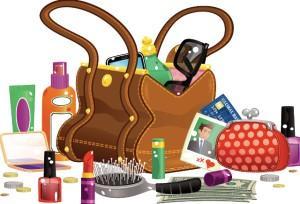 Kadınların çantalarında neler olur?
