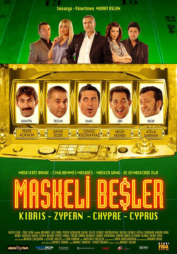 Sizce en güzel ve komik Maskeli Beşler filmi hangisi?