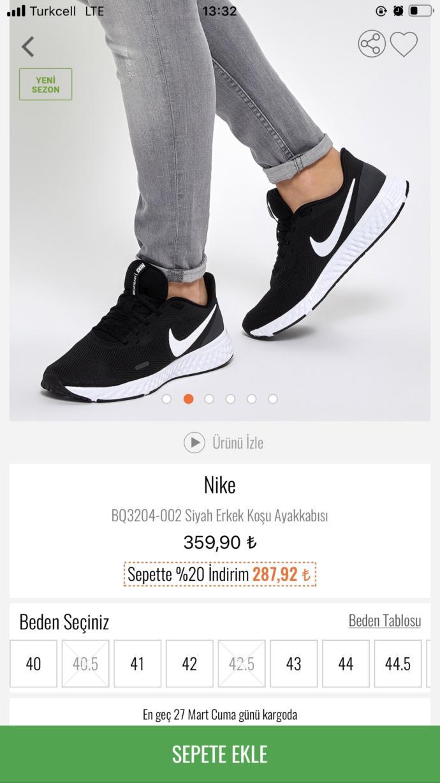 Yeni spor ayakkabım nasıl?
