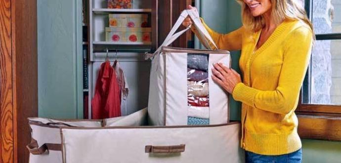 Giyilmeyen kıyafetler nerede saklanmalı? Hurçta mı valizde mi?