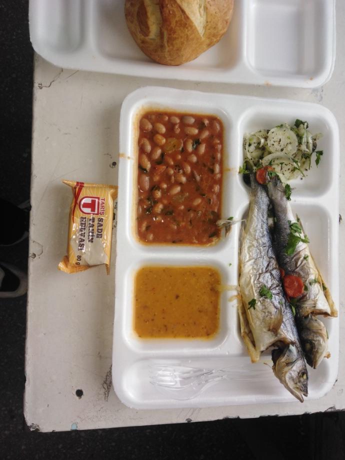Balığın üzerine hangi tatlı muhteşem olurdu?