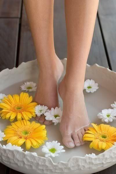 Duşta ayak bakımı yapar mısınız?