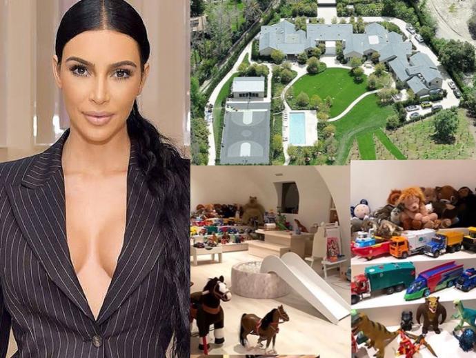 Evindeki sinema salonundan çocukları evde nasıl eyliyorsun diye soran Kim Kardashian'a önerin ne?