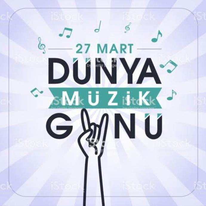 🎤 27  Mart  Dünya Müzik Günü🎶 En sevdiği şarkıyı söyleyecek cesareti olanlar kimler?