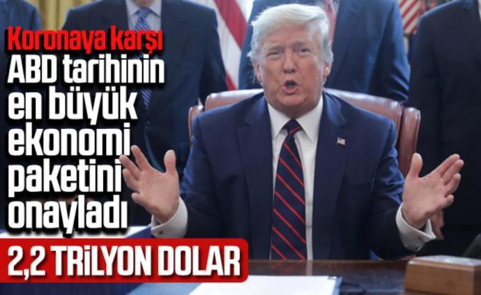 Sizce Trump 2.2 trilyon dolar tutan korona paketi için bu parayı nereden bulacak?