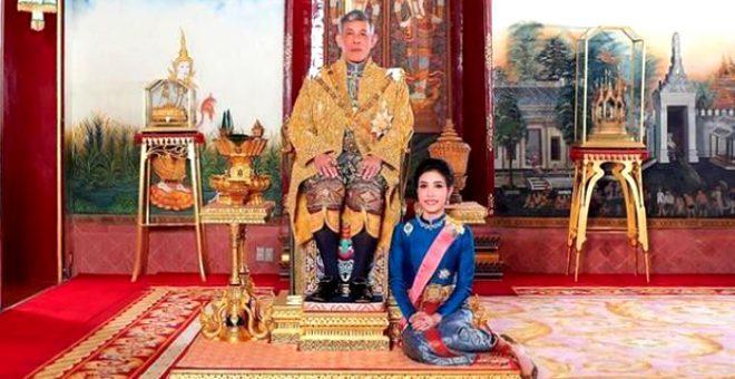 Tayland Kralı karantina için 20 kadınla birlikte otel kapattı! Ne düşünüyorsunuz?