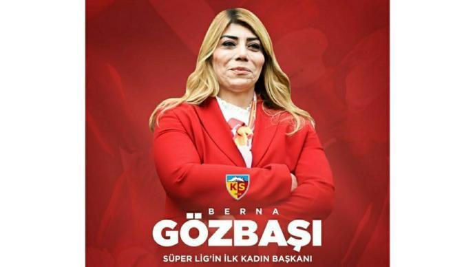 Kadınlar isterse her şeyi başarırın en güzel örneklerinden Kayserispor Kulübü Başkanı Berna Gözbaşını tanıyor musunuz?