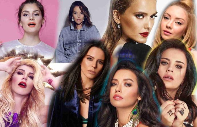 En ünlü 5 pop şarkıcı kim Türkiyede?