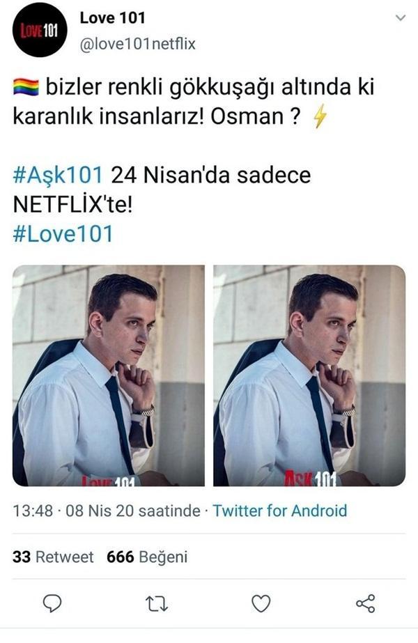 Netflixin Türk Yapımı Yeni Dizisi Aşk 101de Osman İsimli Gay Bir Karakterin Olduğunu İddia Edildi?