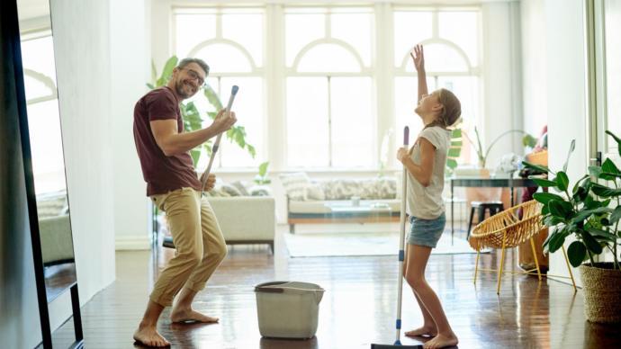 Temizlik yapmayı seven çiftin ilişkisi ömürlük mü olur?