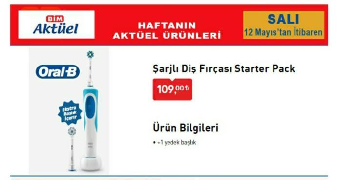 Uygun fiyatlı şarjlı diş fırçası önerir misiniz?