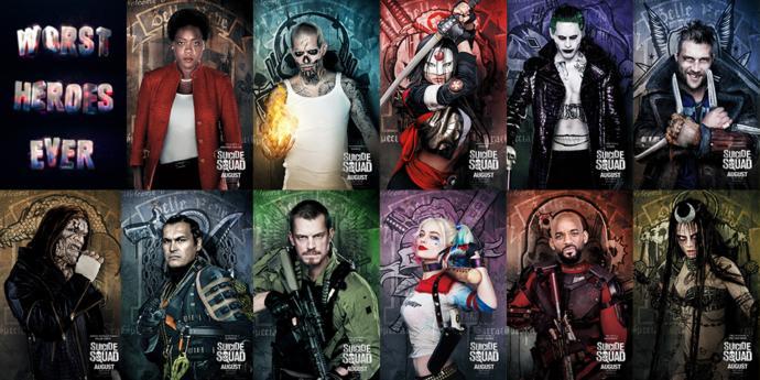 En sevdiğiniz Suicide Squad karakteri hangisi?