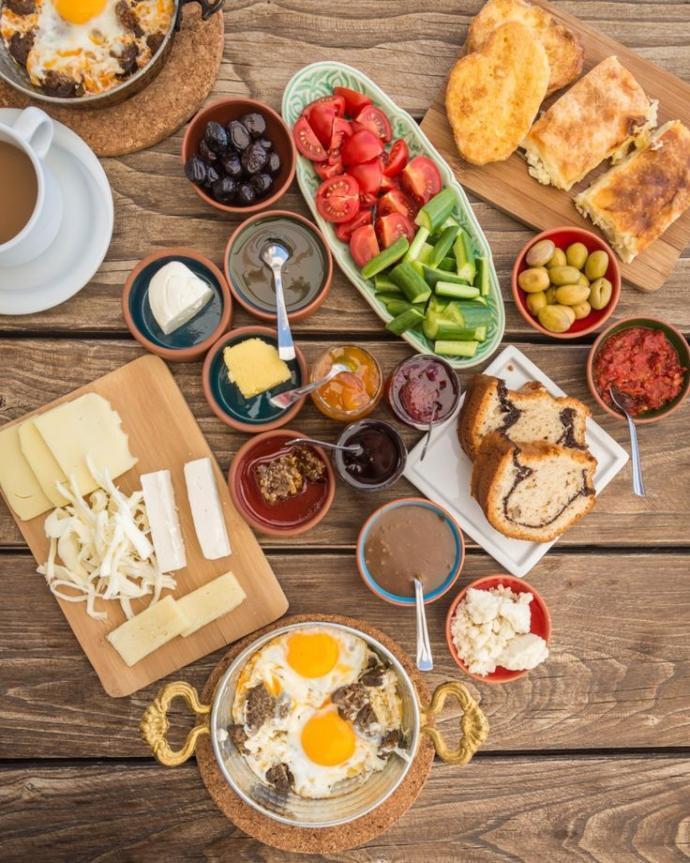 Kahvaltıda ne olursa hayır diyemezsiniz?