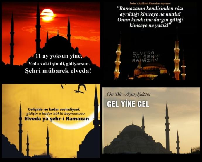 Evet ve geldik bu güzel Rahmet Ayı olan Ramazan Ayı bugün bitti Bu Rahmet Ayı mübarek Ramazan ayı nin bitişine üzülenler var mı?