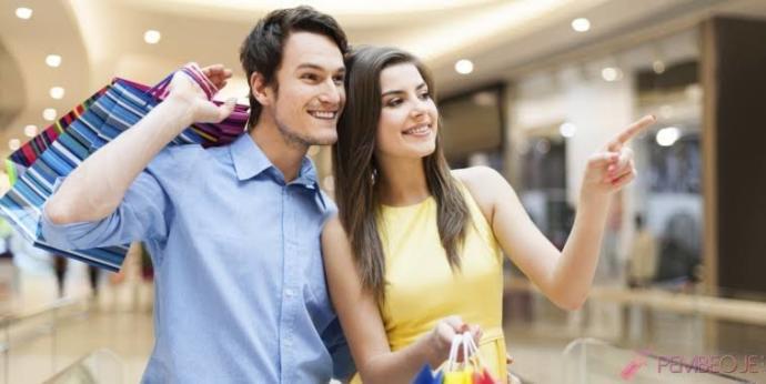 Alışverişe sevgilinizle hiç gittiniz mi?