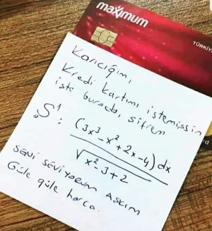 Kredi kartı şifremi çözmeme yardım eder misiniz?