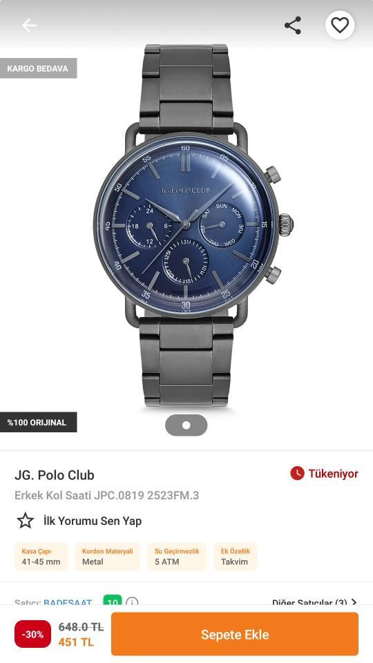 Sevgilime bu saati alicam siz olsanız beğenir miydiniz?
