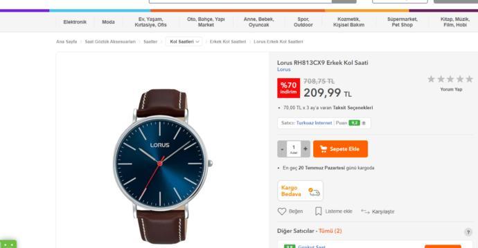 Saat modeli önerir misiniz?