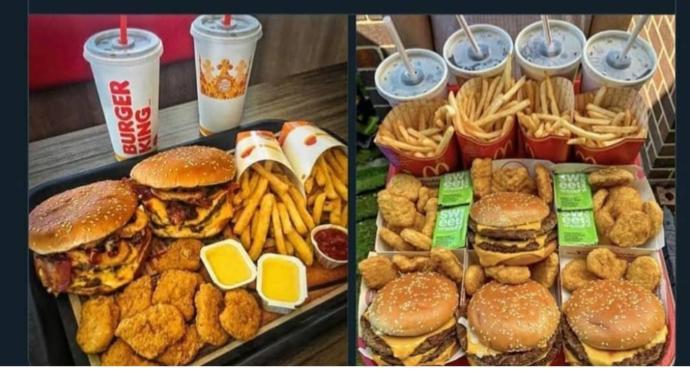 Burger King mi McDonalds mı?