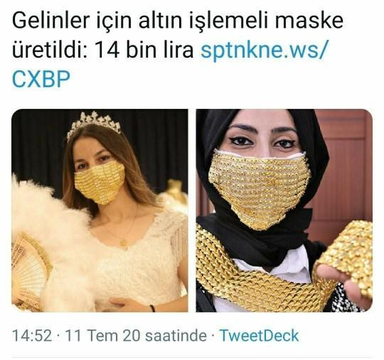 Bu maskeden satın almak ister misiniz?