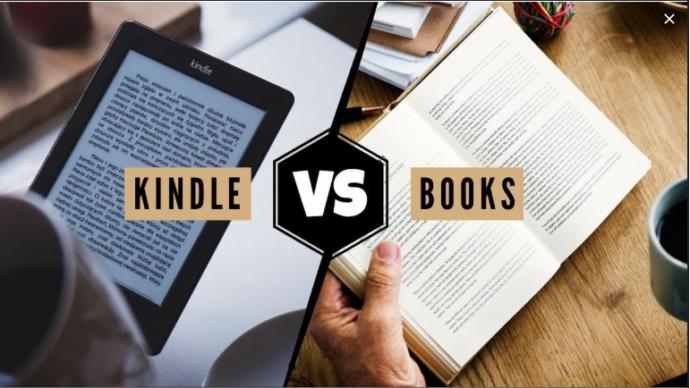 Basılı kitap mı Kindle mı?