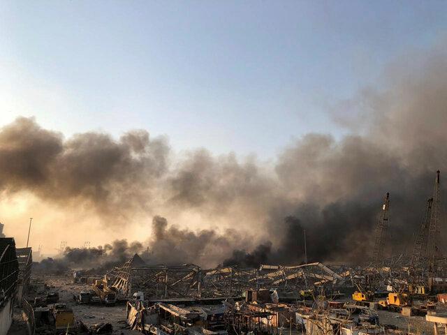 Beyrutta yaşanılan şiddetli patlamayı gördünüz mü? 2020de dünyada yaşanılmayan felaket kaldı mı?