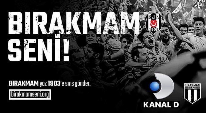 Beşiktaşın Bırakmam Seni kampanyasını nasıl buldunuz? Kampanyaya destek verdiniz mi?