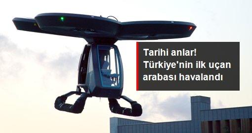 Türkiyenin ilk uçan arabası CEZERİ havalandı! Uçan arabanın ülkemize ve size nasıl bir faydası olabilir?