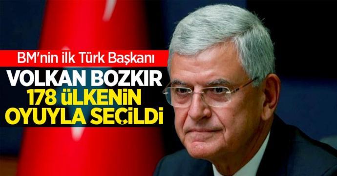 BM Genel Kurul Başkanlığına seçilen Volkan Bozkır bugün koltuğunu devraldı, yorumunuz nedir?