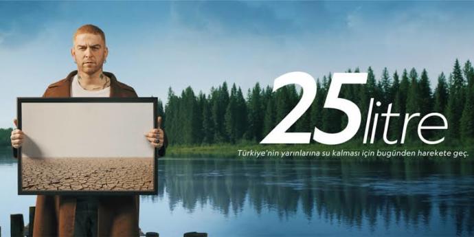Günde 25 litre su ile geçinebilir misiniz?