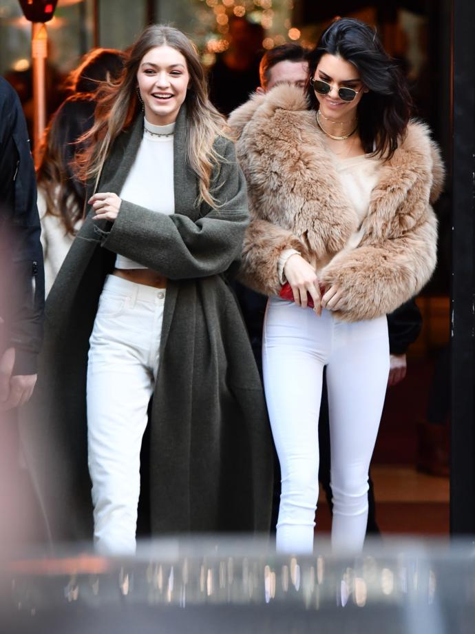 Gigi Hadid mi Kendall Jenner mı Daha Güzel Sizce?