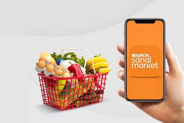 Ünlü marketlerin online hizmet veren sanal uygulamalarını alışveriş yapmak için kullanıyor musunuz?