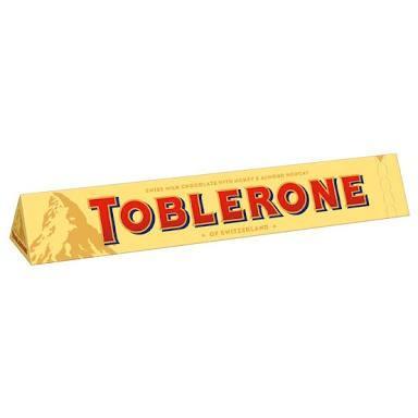Daha önce hiç Toblerone yedin mi?