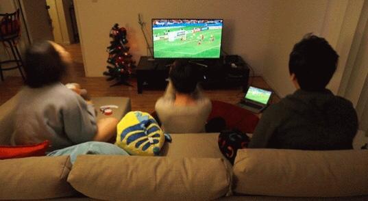 Maç izlerken yazan erkek seviyor mudur?