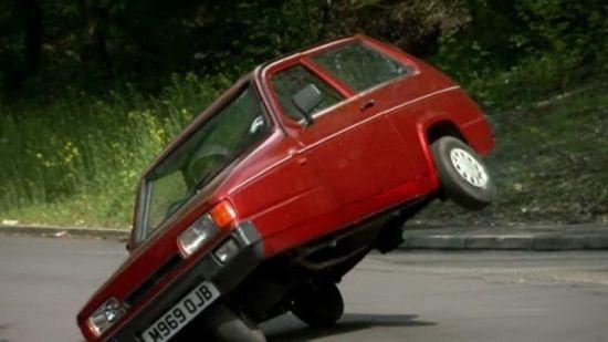 Dünyanın en kolay devrilen arabasını biliyor musunuz?